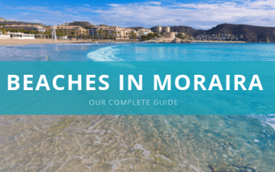 A complete guide to beaches in Moraira