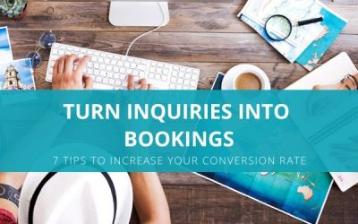 Turn inquiries into bookings