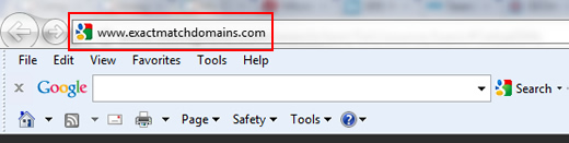 The Webspam Algorithm Update and Exact Match Domains
