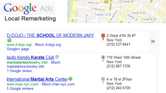 AdWords Remarketing Strategies for Local Businesses