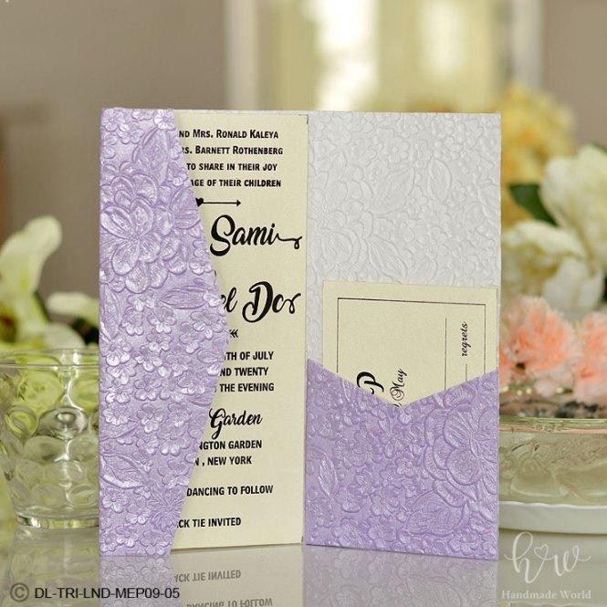 Wedding Invitation Whole Pocket