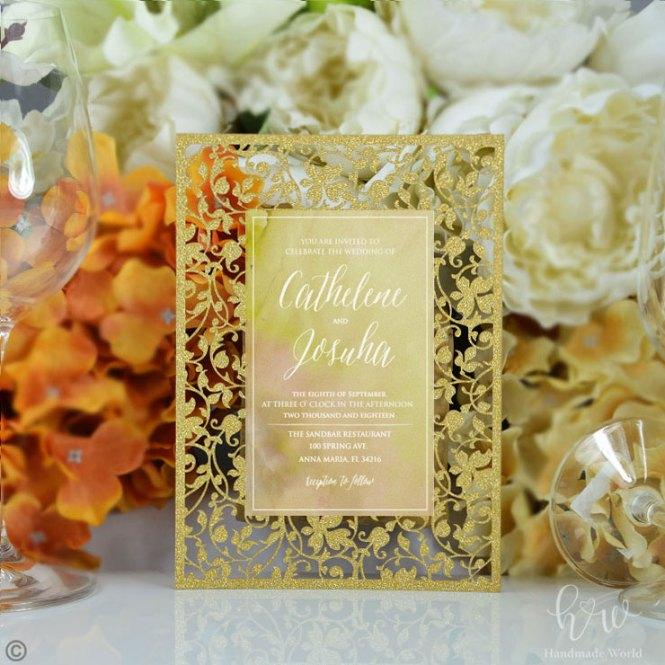 Diy Wedding Invitations Kits Kids