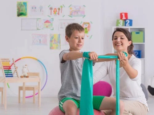 physical therapy and kids