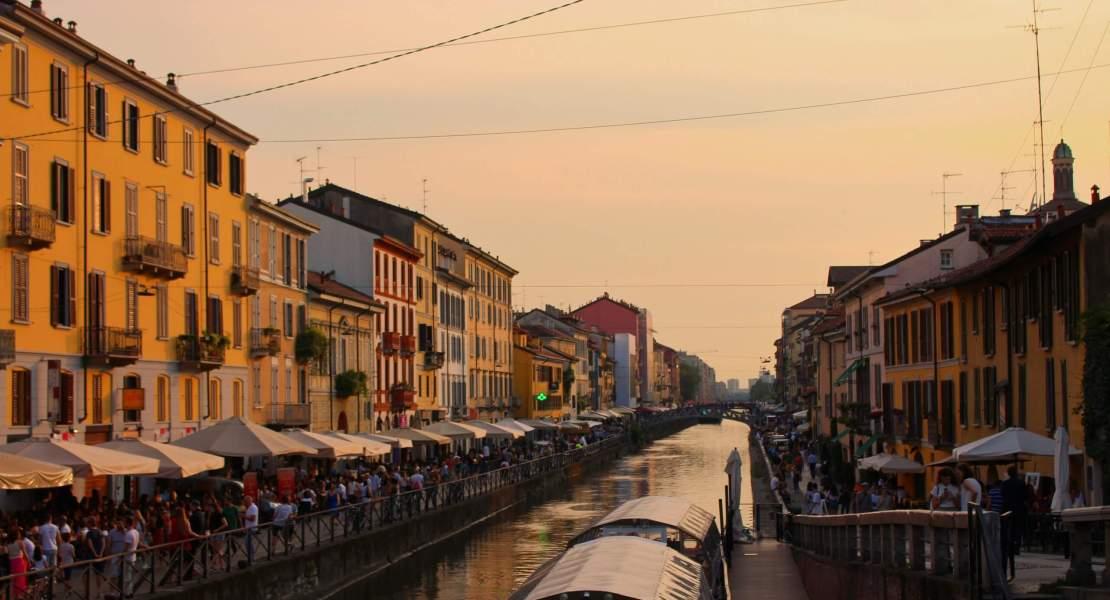 Sunset in Milano