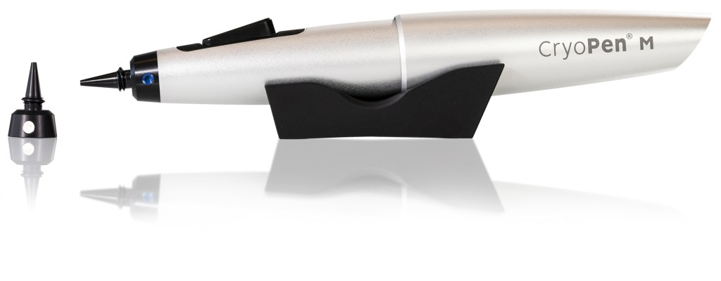 CryoPen M with applicator and support