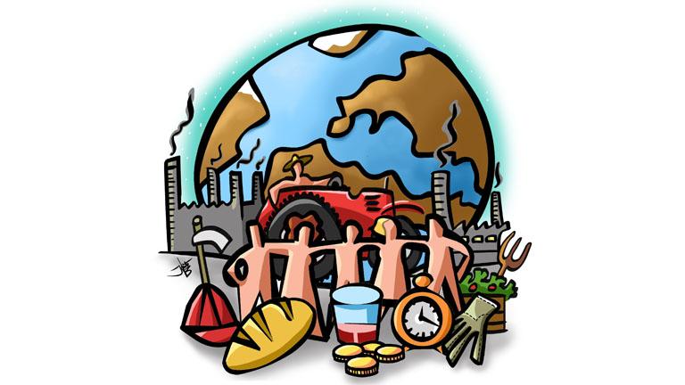 Tierra, techo y trabajo para una vida digna