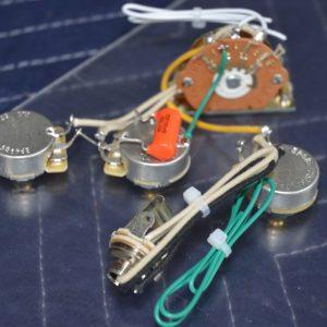 """Robert Cray"" model Stratocaster Style Wiring Harness   Hoagland Custom"
