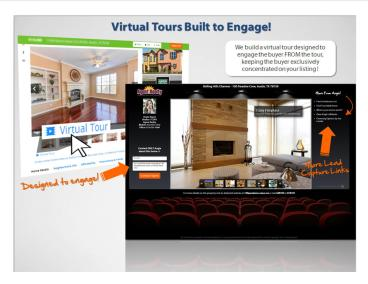 Virtual Tours Built to Engage