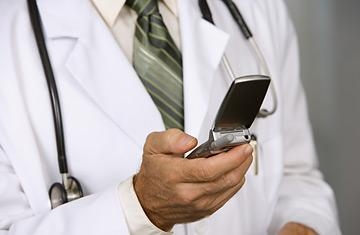 Picture about Cell phones should not be used in hospitals!