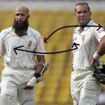 Picture: Hashim Amla does not wear a Castle Logo
