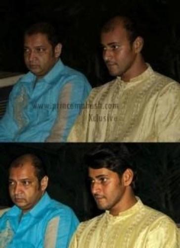 Original and Photoshopped Picture of Mahesh Babu