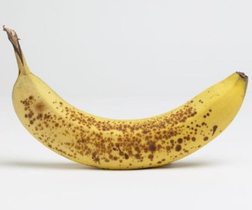 Picture: Full Ripe Banana with Dark Patches Combats Abnormal Cells and Cancer