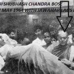 Picture about Netaji Subhash Chandra Bose Alive beside Jawaharlal Nehru's Dead Body