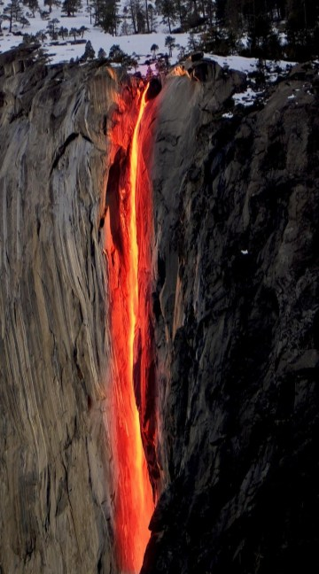 Picture: Flaming Fire Waterfalls