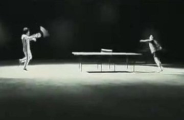Picture about Bruce Lee Playing Ping Pong with Nunchaku - Video