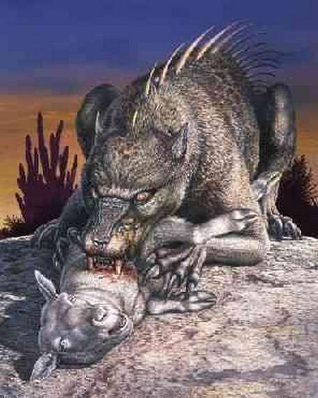 Picture about Mystery of Chupacabra, the Blood Sucking Monster