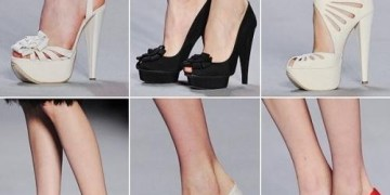 Picture: Wearing High Heels will Damage your Feet, Knees and Back
