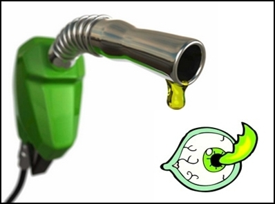 Picture: Petrol in Eyes can Make you Blind