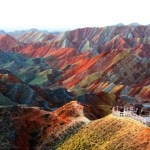Picture: Unbelievable Rainbow Mountains in China's Danxia Landform