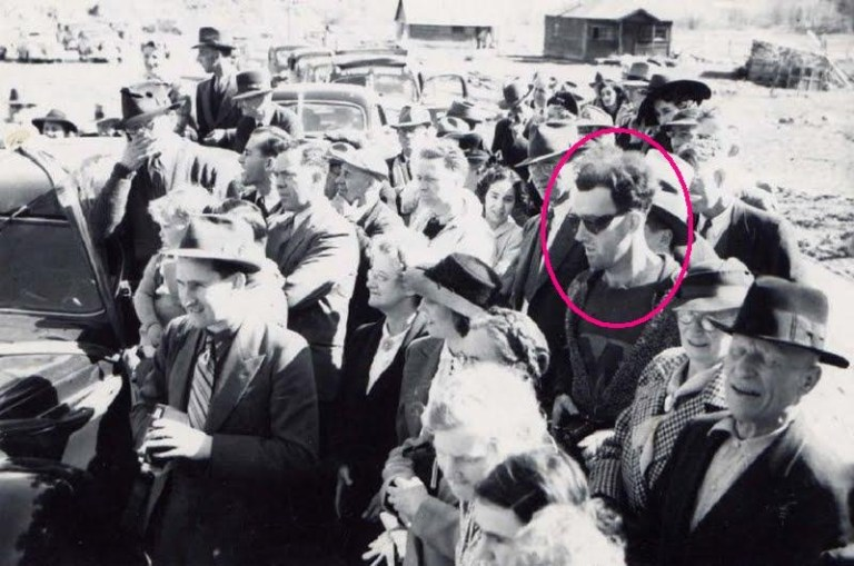 About Photo of a Time Traveling Hipster