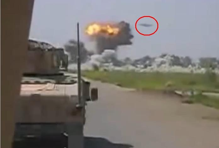 Picture about UFO Attacking Taliban Base in Afghanistan, Video