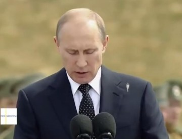 Picture about Bird Poops on Putin During Speech, Video
