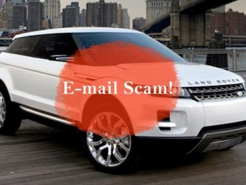 Picture about Land Rover Motors Promotion, United Kingdom: Email