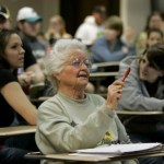 Picture about 87-Year-Old College Student Rose Graduated