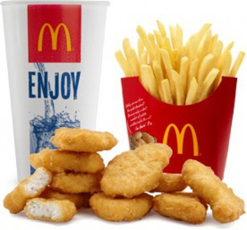 Picture about McDonald's Chicken McNuggets Made from Chemical Used in Silicone Breast Implant Filler