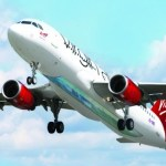 Picture about Virgin Atlantic Launches World's First Glass-bottomed Plane