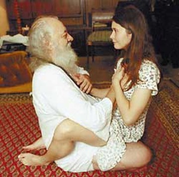 Picture about Asaram Bapu Disgusting! This is How Godman Imparts 'Diksha'