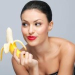 Picture Suggesting Banana Peel Heals Acne, Pimples, Wrinkles and other Skin Problems