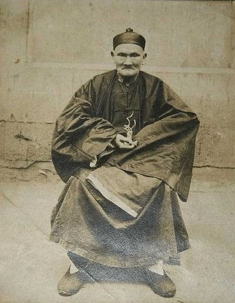 Picture about Li Ching Yuen, a Chinese man who Lived for 256 Years