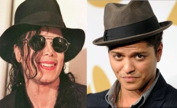 Picture Suggesting DNA Results Confirm Michael Jackson is Biological Father of Singer Bruno Mars