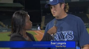 Picture Suggesting Evan Longoria's Amazing Catch Saves a Reporter's Life