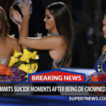 Picture Suggesting Miss Colombia Commits Suicide Moments After Being De-Crowned