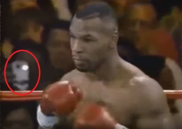 Unexplained Time Traveler Captured at Mike Tyson Fight: Facts