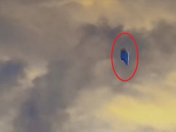 Picture about UFO Flying Over a US Military Base in Ohio, Video