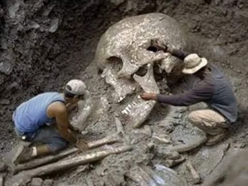 Picture about Discovery Channel Found 80 Feet Giant Human Skeleton in North India