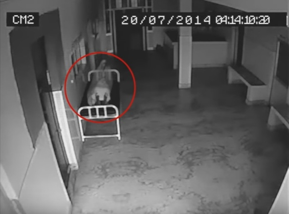 Picture Suggesting Spirit Rises from Dead Woman's Body in Hospital, Video