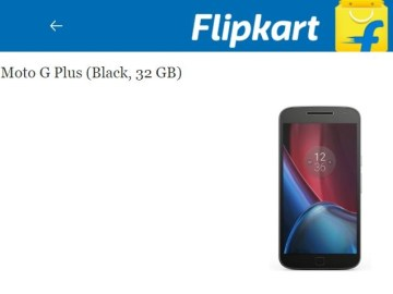 Picture of Best Deal, Flipkart's Best Selling Moto G4 Plus in Only Rs 599