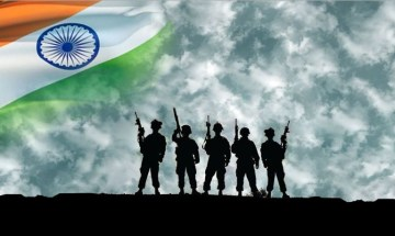 Picture about Donations to Indian Army for Battle Casualties and Weapons Purchase