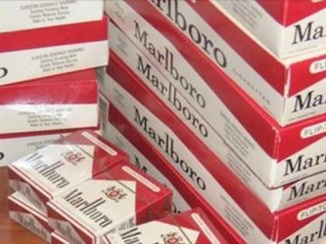 Picture Suggesting Marlboro Giving Away Free Cigarette Cartons on Anniversary