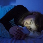 Picture Suggesting Sleeping With Your Phone in Bed is Bad For Your Health