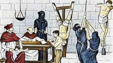 Images Depicting Horrible Inhuman Catholic Inquisition of Hindus in Goa