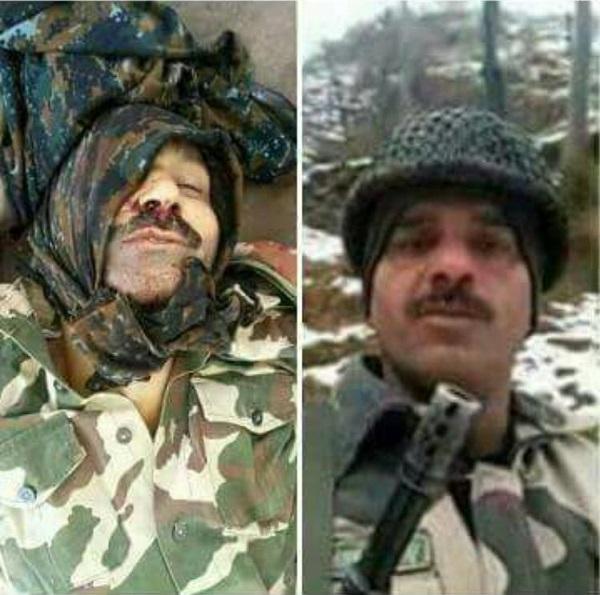 Picture Suggesting 'Whistle Blower' BSF Jawan Tej Bahadur Yadav Killed