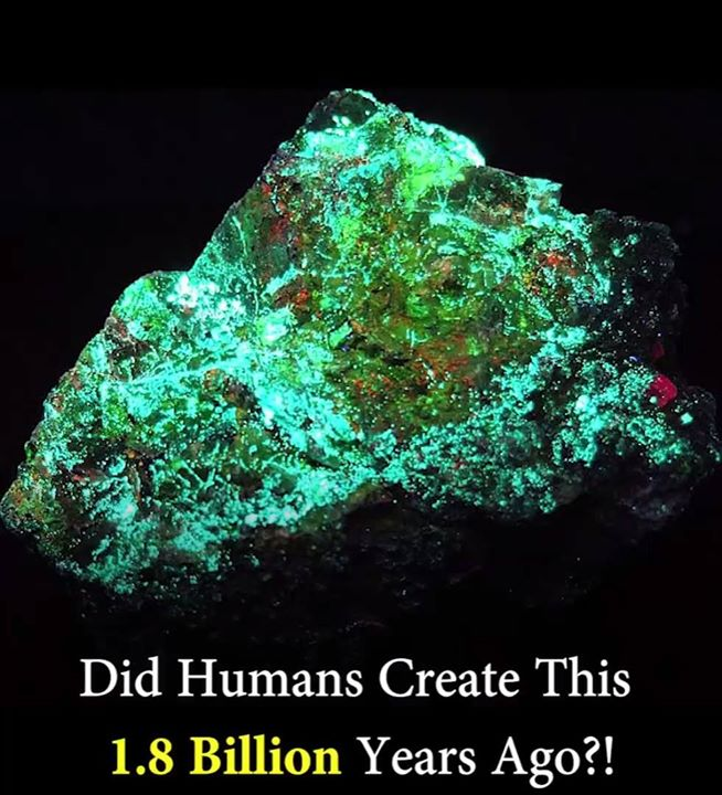 Picture about 1.8 Billion Years Old Nuclear Reactor in Oklo, Man-Made or Mystery