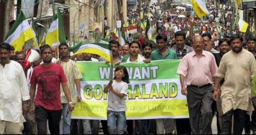 Picture of Protests for Separate Gorkhaland State