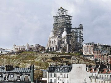 Picture about Taj Mahal Being Removed from Original Paris Site to be Rebuilt in India