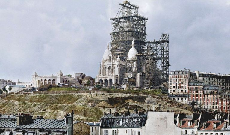 Picture of Taj Mahal Being Removed from Original Paris Site to be Rebuilt in India: Hoax